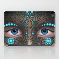 Halloween Mask - Painting iPad Case