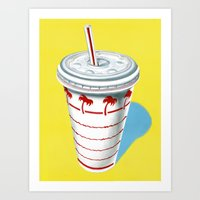 In-N-Out Cup Art Print