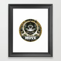 Move Framed Art Print