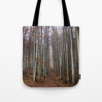 Autumn Hike Tote Bag