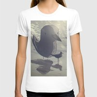 The Gaviota From Cartage… Womens Fitted Tee White SMALL