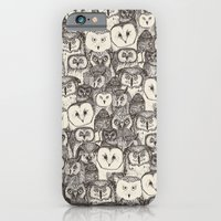 just owls natural iPhone 6 Slim Case