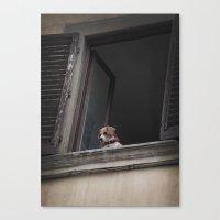 Take Me With You _ Beagl… Canvas Print