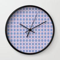 Heart Flowers Rose Wall Clock