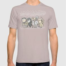 The Mild Rumpus Mens Fitted Tee Cinder SMALL