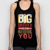 BIG BROTHER IS WATCHING … Unisex Tank Top