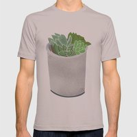 Cactus Plant II Mens Fitted Tee Cinder SMALL