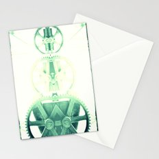 Oil the wheels Stationery Cards