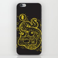 The Golden Eel (in yellow gold) iPhone & iPod Skin