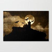 Bat's Hour Canvas Print