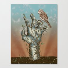 Dawn of the Living Canvas Print