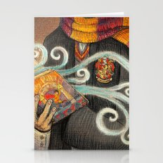 Books magic Stationery Cards