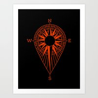 Locater Art Print