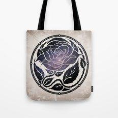 The Rose Medallion Tote Bag