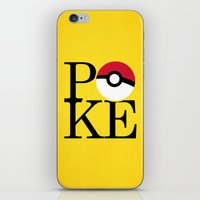 Poke iPhone & iPod Skin
