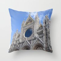 Siena Cathedral Throw Pillow