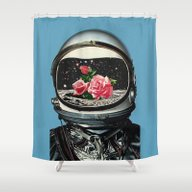 Shower Curtain featuring Spring Crop At The Rosse… by Eugenia Loli