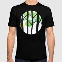 blacks trees Mens Fitted Tee Black SMALL
