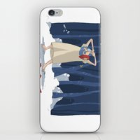 young hero iPhone & iPod Skin