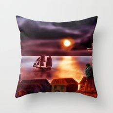 A New World Throw Pillow