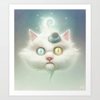 Release The Odd Kitty!!! Art Print