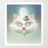 Release the Odd Kitty!!! Art Print
