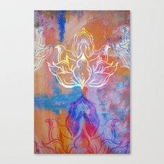 Bindu Alligning Canvas Print