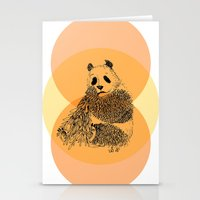 Saving Panda Stationery Cards