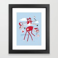 Adventure On The Way To … Framed Art Print