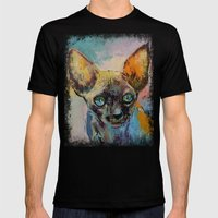 Sphynx Mens Fitted Tee Black SMALL
