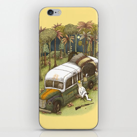 Into The Wild Things iPhone & iPod Skin