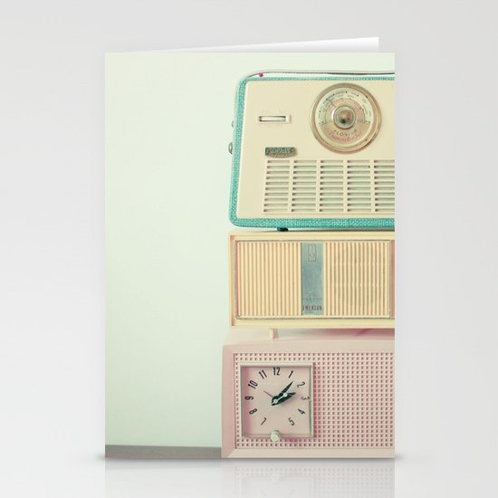 Radio Stations Stationery Card