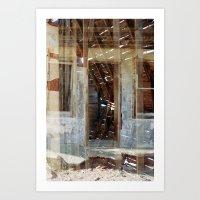 Glenrio, NM/TX, Route 66 II Art Print