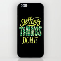 Getting Things Done iPhone & iPod Skin