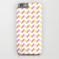 Yellow & Pink iPhone 6 Slim Case
