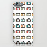 Colourful Camera Icons iPhone 6 Slim Case