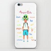 Angryocto - Joun's Math … iPhone & iPod Skin