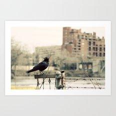 The Watcher Art Print