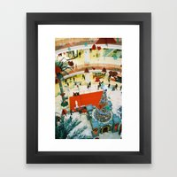 close to Christmas   Framed Art Print