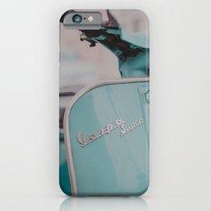 Mint Vespa  iPhone 6 Slim Case