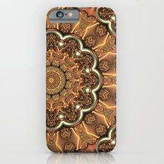Molten Copper Mandala Slim Case iPhone 6s
