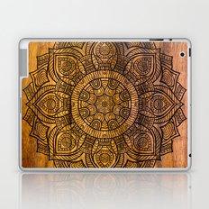 Mandala on wood Laptop & iPad Skin