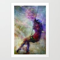 Baloiço Art Print