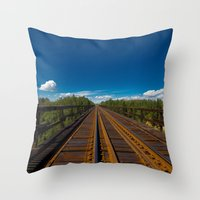 More Alberta Colors Throw Pillow