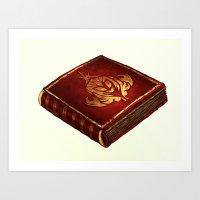 The Book PRINT Art Print