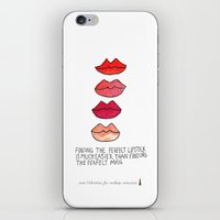 Lipstick >Men iPhone & iPod Skin
