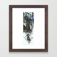 Rise from the ashes of the night Framed Art Print