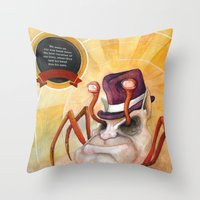 Check Out My New Shell Throw Pillow
