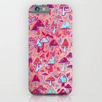 iPhone & iPod Case featuring Shroom Forest by Alex Boucher Art
