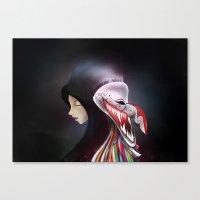 Women_ผีตาโข… Canvas Print